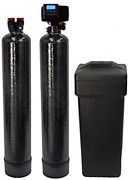 Abcwaters Built Fleck 5600sxt Water Softener And Upflow Carbon Filtration - 4800