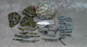 Six Old Us Army Desert Storm To Iraq War Combat Helmets And Extra Straps Used