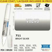 711 Touch Up Paint For Volvo Silver S60 Xc90 Xc60 V70 S80 V60 Xc70 V40 Cross Cou