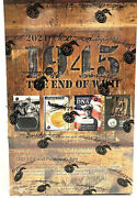 2021 Historic Autographs 1945 The End Of Wwii Hobby Box 20 Packs Per Box