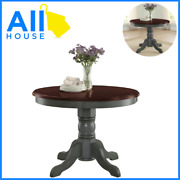 Dining Room Table Round French Antique Vintage Kitchen Rustic Wood Only For 4