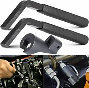 19mm Fuel Line Socket And Engine Brake Tools 4.6mm And 4.1mm For Dd13, Dd15 And Dd16