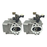 2pcs Marine Carb Carburetor Replace For Yamaha 2-stroke 9.9hp 15hp Outboards