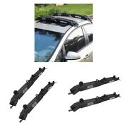 4-pack Automobile Soft Roof Top Rack Cross Paddleboard Luggage Carrier