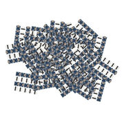 30x Connector Micro Usb To Dip Pin Pitch Converter Pinboard 14.5x13x4mm
