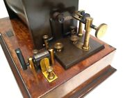 Antique 19th Large And Rare Leybolds Nachfolger German Ruhmkorff Induction Coil