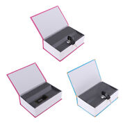 3x Home Dictionary Safe Outlet Lock Book Piggy Bank Money Box Hide Jewelry