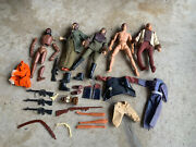 1974 Planet Of The Apes Orig. Mego 8 Inch Action Figure And Accessory Lot Urko