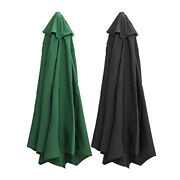 Fabric Parasol Canopy Cover Patio Garden Umbrella Surface Covers Replacement