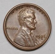 1926-s Lincoln Wheat Cent Nice Original Au Coin Strong Strike