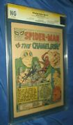 The Amazing Spiderman 1 Cgc Pg Ss Signed By Stan Lee 1963 Fantastic Four