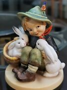 Extremely Rare Hummel Figurine 58/0 Tmk1 Double Crown Excellent