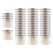 40x Stainless Steel Cup Drink Holder For Boat Rv Car Truck Pontoon Motorhome