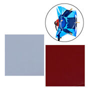 2 Pieces Square Color Gels Film Filter Paper For Flash-light Camera Stage