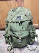 Usgi Us Army Issue Alice Large Rucksack Pack Ruck With Frame Complete Lc-1 Lc-2