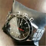 Tag Heuer Carrera Out Of Print Rare Back Skeleton Red Needle Menand039s Watch