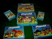 Huge Vintage Playmobil Sets-lot Of 6- 3856-3853-3854-3117-3714-3119. New In Box