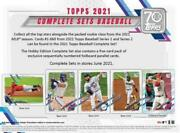 2021 Topps Baseball Factory Set Retail Edition 660 Cards +5 Rookie Variations