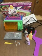 2002 Creepy Crawlers Bug Maker Oven 2 Molds Goop Tested Works Working