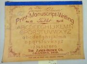 1936 Antique Child 2nd Grade Handwriting Tablet Beale