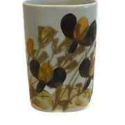 Royal Copenhagen Small Vase Cup Ivan Weiss Signed 962/3885 Pottery Fajance