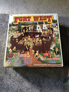 Fort West Timmee Toy Cowboys And Indians Play Set Plastic