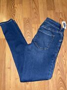 Old Navy Rockstar Womens Jeans Size 00 Super Skinny Low Rise Nwt