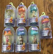 Lot Of 7 New Disney Winnie The Pooh Easter Egg Collectible Figures 2003