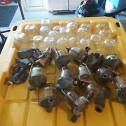 50and039s 60and039s Glass Fuel Filter Lot Cadillac Buick Oldsmobile Chevy Studebaker