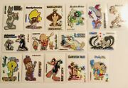 Looney Tunes Holographic Sticker Trading Cards