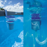 Pool Wall Mounting Surface Skimmer Cleaner Basket Collect Leaves Debris