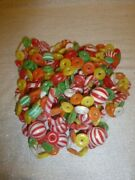 3 Vintage Christmas Plastic Garland Sugared Candy Cane Blow Mold 27 Feet Or 324