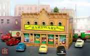 N Scale Hardware And Paint Store Custom Built Weathered Structure Dpm Building
