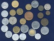Italy Kingdom And Republic Assorted Coins And Medal, 20 Lire 1957 And 1958 Both Types