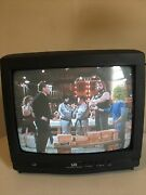 Vintage Series Lxi Sears Brand 13 Tv Retro Gaming With Remote Crt