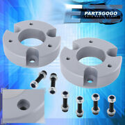 For 05-20 Nissan Frontier 2wd 4wd 2 Front Silver Leveling Lift Kit Coil Spacer