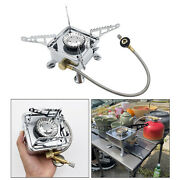 Gas Stove Portable Burner Cooking Picnic Grill Mapp Tank Burning Stoves