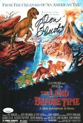Don Bluth Signed The Land Before Time 8x12 Photo Autograph Jsa Coa Cert