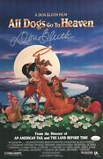 Don Bluth Signed All Dogs Go To Heaven 11x17 Photo Autograph Jsa Coa Cert