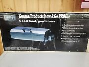 Kuuma Profile 150 Barbecue Electric Grill 58121 Stainless Steel Marine Boat Rv