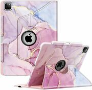 360 Rotating Case For Ipad Pro 12.9and039and039 5th Gen 2021/ 4th 2020/ 3rd 2018 Cover