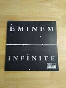Eminem Infinite Limited Edition Frosted/clear Vinyl Record 1 Of 1000 ✨amazing✨