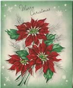 Vintage Christmas Red