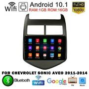 Android 10.1 Car Dvd Player Stereo Radio Gps For Chevrolet Sonic Aveo 2011-2014