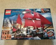 New Sealed Lego 4195 - Pirates Of The Caribbean Queen Anne's Revenge