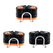 3x Boat Sailboat Cam Cleat Fast Entry For 3-12mm Rope Canoe Accessories