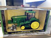 1/16th Scale John Deere 8520t Tractor With Tracks Collector Edition Chrome 1/64