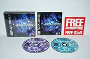 Star Ocean The Second Story Sony Playstation 1 1999 Ps1 Psone 2 3 Black Label