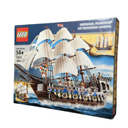 10210 Lego Pirates Imperial Flagship Building Toys Vintage Only Open Box
