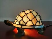 Original Stained Glass Turtle Lamp